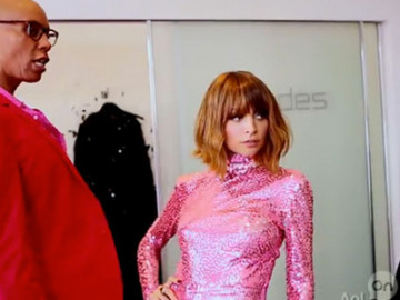 Nicole Richie welcomes RuPaul on #CandidlyNicole