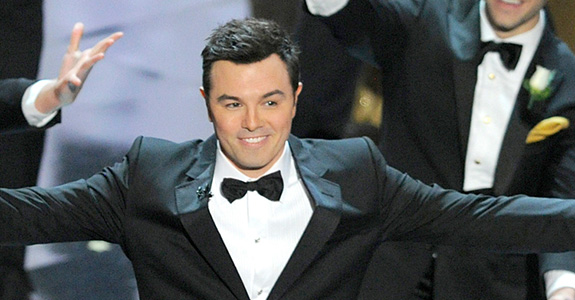 Seth MacFarlane won't be hosting the Oscars again!