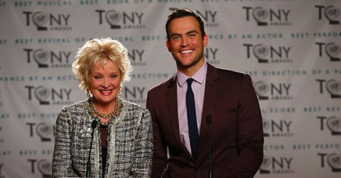 CHRISTINE EBERSOLE AND CHEYENNE JACKSON