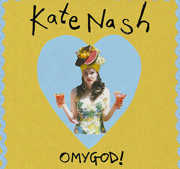 "Kate Nash drops a new ""OMYGOD!"" remix!"