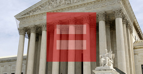The Supreme Court struck down DOMA and Prop. 8!