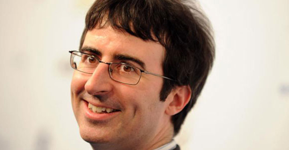 John Oliver talks taking over 'The Daily Show'