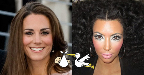 Kate Middleton & Kim Kardashian