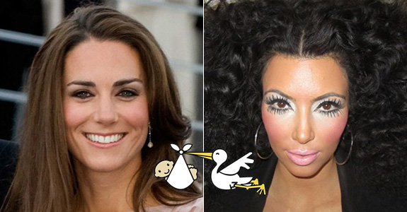 Kate Middleton & Kim Kardashian: Same due date!