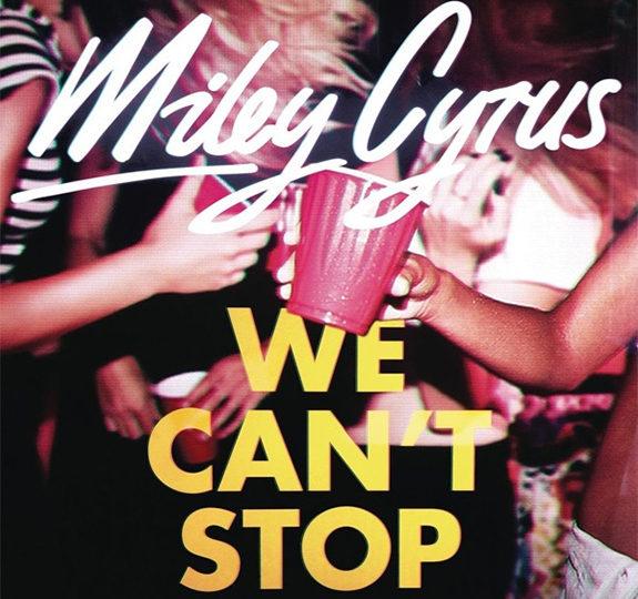 "Miley Cyrus releases her new song, ""We Can't Stop"""