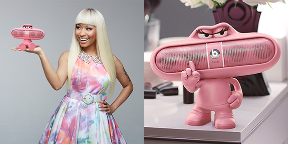 Nicki Minaj / Pink Pill Speaker / Beats by Dr. Dre