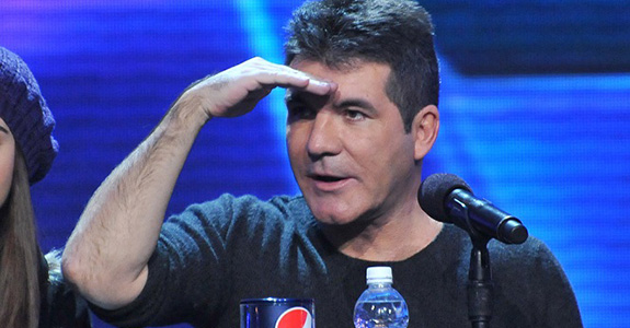 Simon Cowell got egged on live TV!