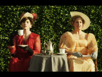 Willam, Michelle Visage, Vicky Vox, and Courtney Act star in 'Snore' (Downton Abbey)