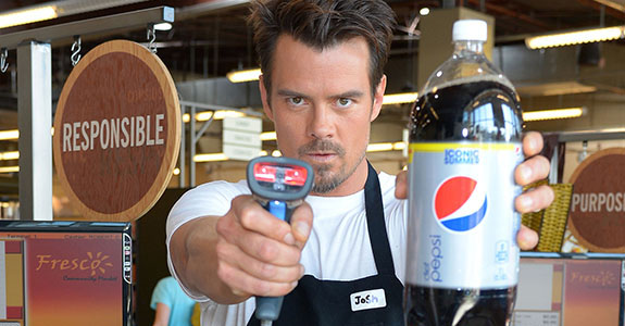 What would you do if Josh Duhamel checked YOU out?