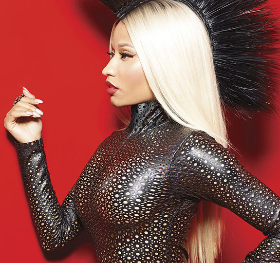 Nicki Minaj's 'Barbz' conduct her Marie Claire interview