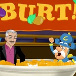 Cap'n Crunch and Burt Reynolds
