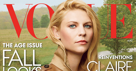 Claire Danes graces Vogue's August 2013 cover!