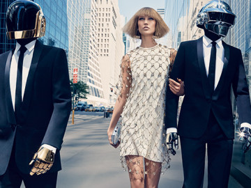 Daft Punk teams up with Karlie Kloss for Vogue