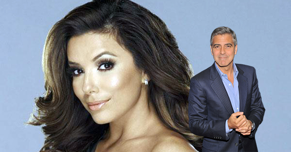 Eva Longoria shut down those George Clooney rumors