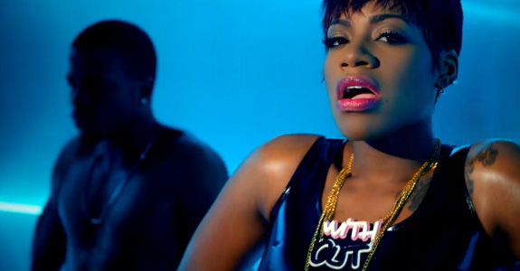 "Fantasia, Kelly Rowland & Missy Elliott in ""Without Me"""