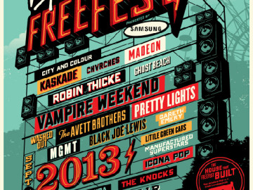 Virgin Mobile's 2013 FreeFest line-up is here!