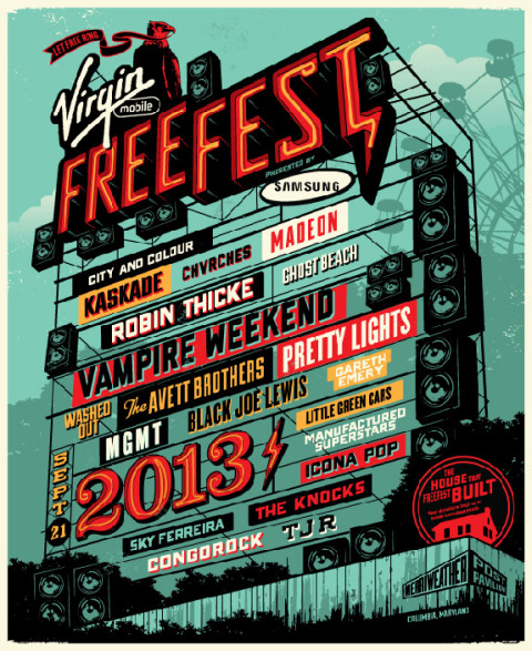 Virgin Mobile FreeFest 2013