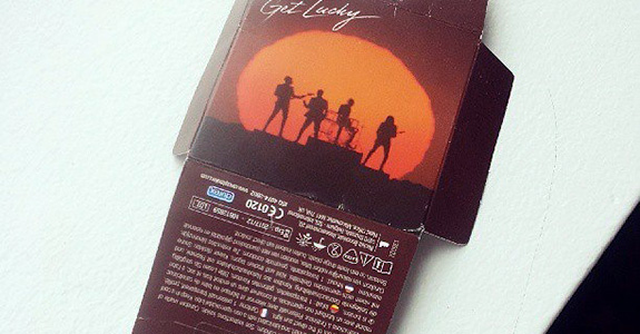 "Daft Punk ""Get Lucky"" Condoms"