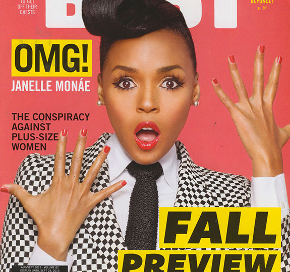 Janelle Monáe covers BUST magazine