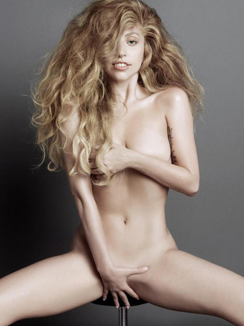 Lady Gaga bares all for V magazine