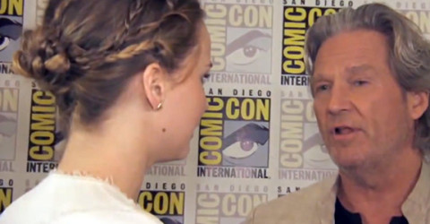 Jennifer Lawrence and Jeff Bridges