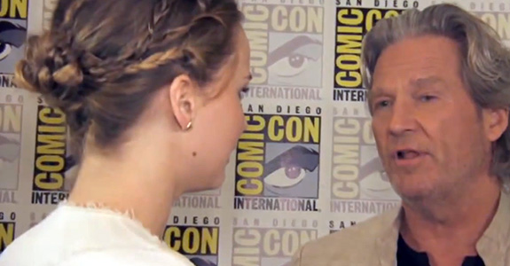 When Jennifer Lawrence met Jeff Bridges …