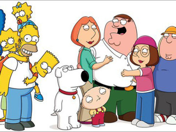 Crossover: The Simpsons + Family Guy