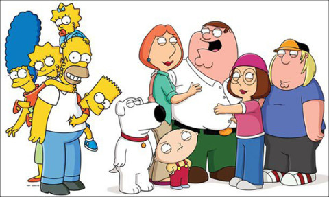 The Simpsons + Family Guy