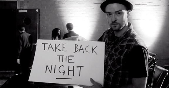 "Justin Timberlake wants us to ""Take Back The Night"""