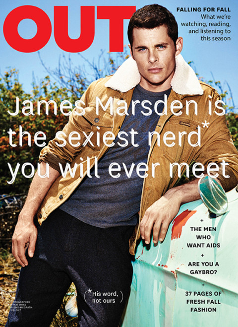 James Marsden / OUT Magazine