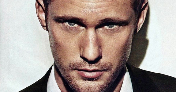 Alexander Skarsgard got drunk; started cheerleading