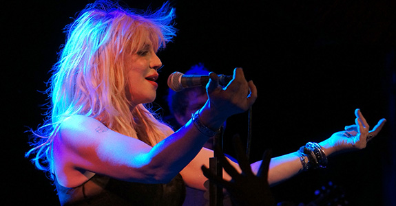 Photos: Courtney Love shined at the Troubadour!