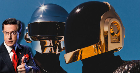 Daft Punk cancelled on Stephen Colbert