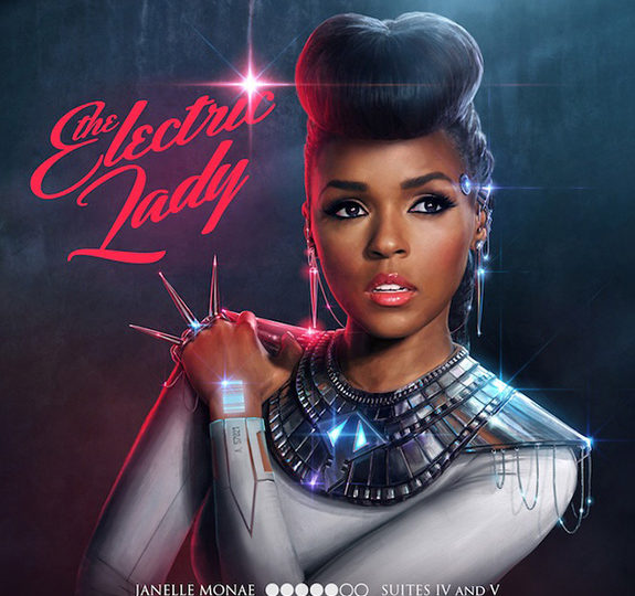 Janelle Monáe unveils 'The Electric Lady' cover art