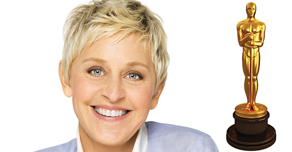 Ellen DeGeneres is hosting the Oscars again!