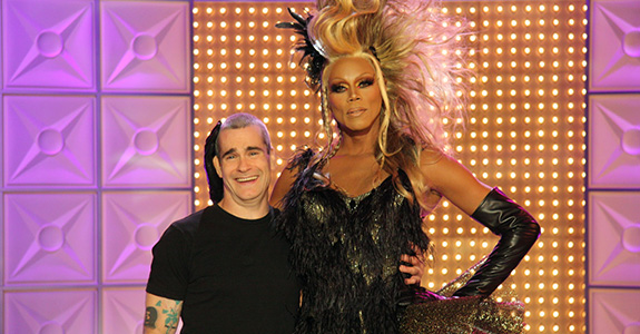 RuPaul Drives … with special guest Henry Rollins!