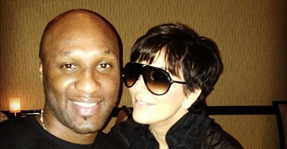 Kris Jenner is mad that Lamar Odom might tarnish her family's reputation?