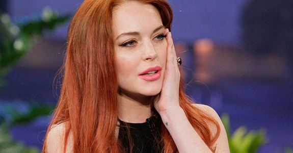 Lindsay Lohan is hosting 'Chelsea Lately'