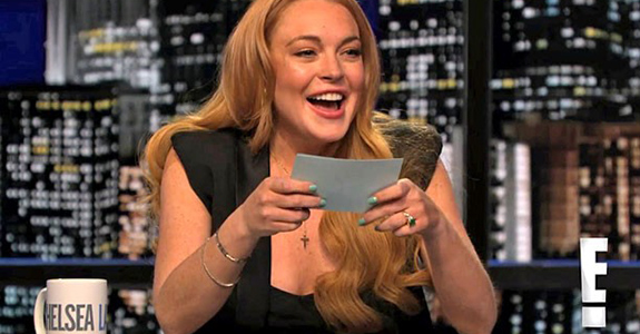 Lindsay Lohan read Kristen Stewart for filth