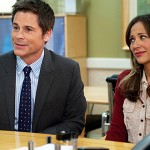 Rob Lowe & Rashida Jones