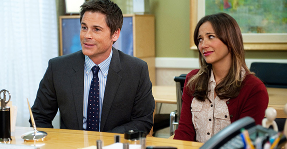 Rob Lowe & Rashida Jones: Leaving 'Parks and Recreation'