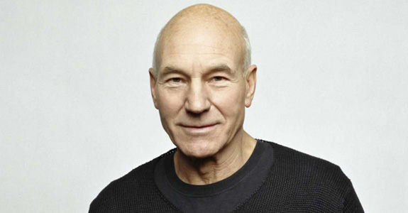 Patrick Stewart gives a masterclass in quadruple takes