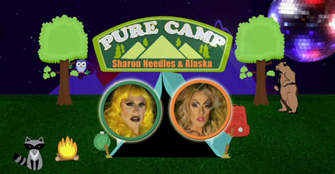 Sharon Needles and Alaska in 'Pure Camp'
