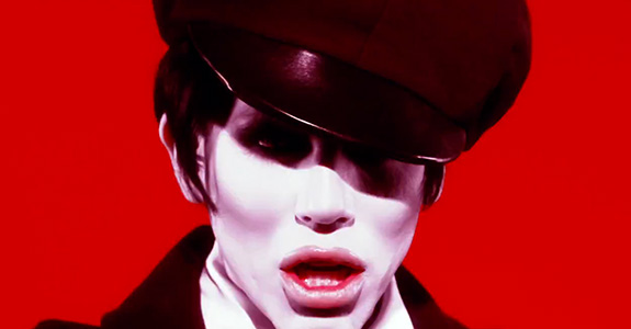 "Sharon Needles' ""Call Me On The Ouija Board"" video"