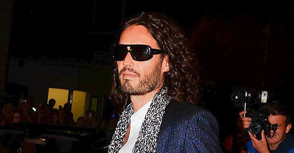Russell Brand called out Hugo Boss' Nazi uniforms!