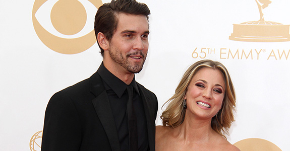 Kaley Cuoco got engaged (but not to Henry Cavill)