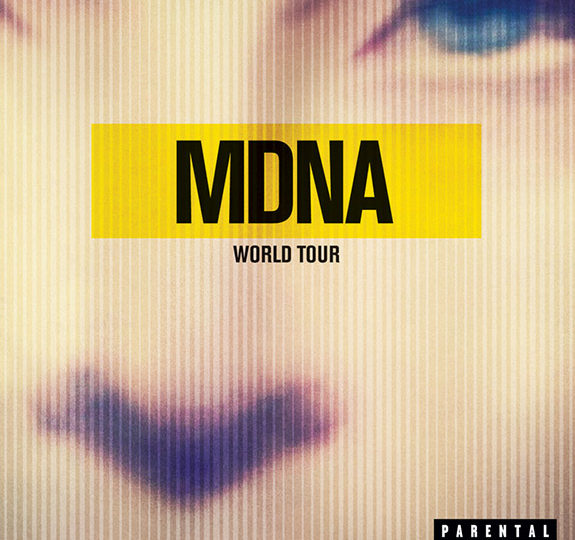 Giveaway: Madonna's MDNA World Tour DVD!