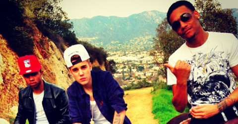 Lil Za, Lil Twist and Justin Bieber