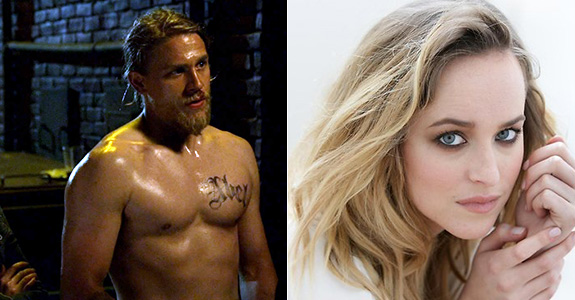 """Fifty Shades of Grey"" now starring … Charlie Hunnam & Dakota Johnson!"