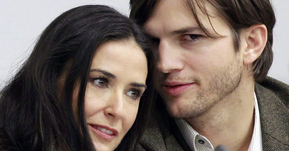 Demi Moore & Ashton Kutcher: Friends again?